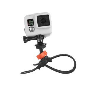 XSories - XSTRAP60 - Fixation pour caméra ou GoPro sur tube, sangle velcro, 16 ? 60 mm de diam?tre - Noire et orange