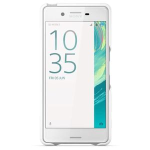 Sony Style Back Cover Clear pour Xperia X Performance