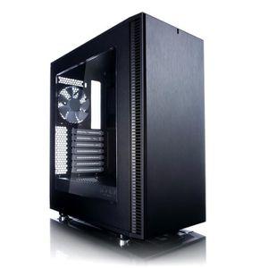 Fractal Design Boîtier PC Define C - Noir - Moyen Tour - Sans alimentation - Fen?tre