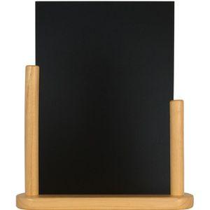 Chevalet de table, mod?le large A4, couleur black