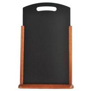 Chevalet de table 30 x 50 cm, couleur Wengee