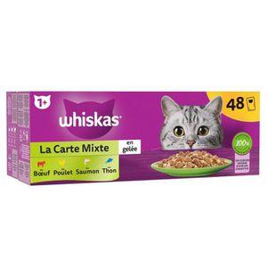 WHISKAS - Terrine du marché - Pour chat - 48X100G