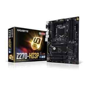 Gigabyte Carte m?re GA-Z270-HD3P - Socket LGA 1151 - DDR4 - 2400 Hz - 64 Go
