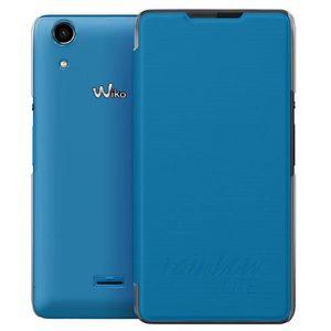 Wiko Etui folio Rainbow Lite - Bleu