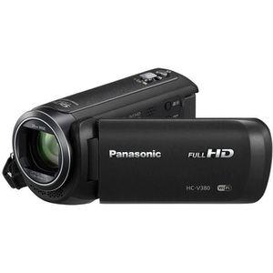 PANASONIC HC-V380 Caméscope numérique Full HD - Zoom 50x - WiFi - Double caméra
