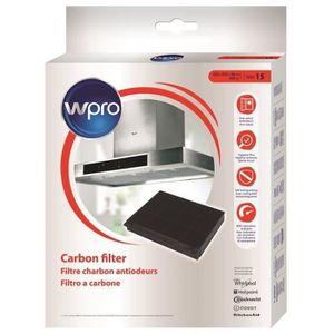 WPRO CHF15/1 Filtre de Hotte (ex MOD15) Type 15 300g/m? dim 225x210x30mm
