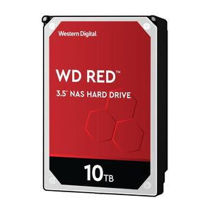 WD Disque dur HDD Red - 10To - 256Mo - 3,5\