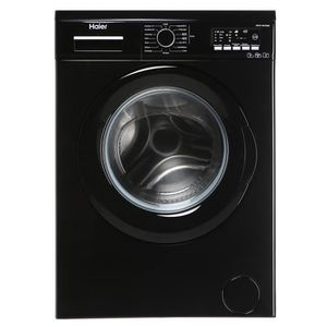 Lave linge frontal pose libre - 7 kg - 1400 tr/min - Classe énergétique A++ - Niveau sonore lavage 58 dB, essorage 79 dB - Consommation annuelle d'eau : 10337, d'électricité : 195 kWh - Coloris noir - Départ différé -