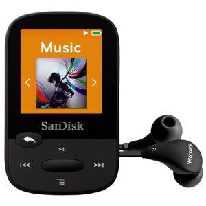 SanDisk Clip Sport 8 Go Noir Lecteur MP3