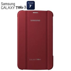 Samsung Stand pouch Galaxy Tab 3 7''Rouge