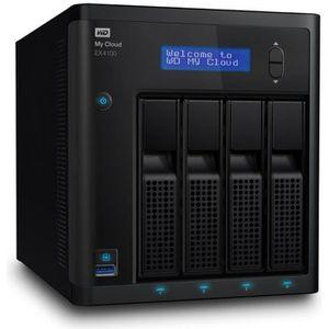 WD My Cloud NAS EX4100 WDBWZE0000NBK-EESN
