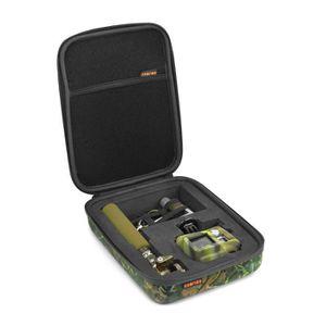 XSories - CAPXULE SMALL - Housse de rangement caméra GoPro et accessoires, mousse découpée, filet de rangement, poignée, Camouflage