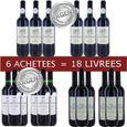 6 = 18 Pack Languedoc Médaillés