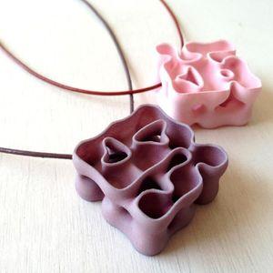 Pendentif Involute fabriqué par impression 3D
