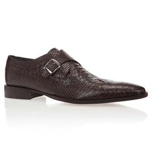 J.BRADFORD Mocassins Croco Chaussures Homme