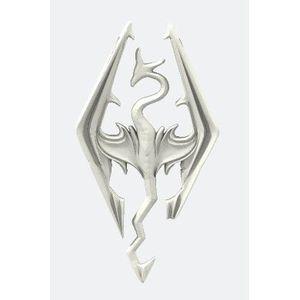 Pendentif inspiré Skyrim personnalisé