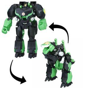 TRANSFORMERS 3 Etapes - Découvrez les nouveaux héros du dessin-animé Transformers : Robot in Disguise ! Découvrez la vitesse et la magie de transformation stupéfiantes. Transformations rapides en 3 étapes ! Transformations bluffantes - Garçon - 6 ans et p