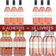 6=18 Pack Rosé Languedoc Dom. Serres Mazard 2014  Corbieres Côtes du Roussillon