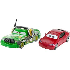 CARS - Pack 2 Véhicules Chick Hicks with Headset & Natalie Certain