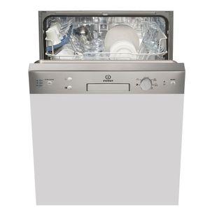 INDESIT EDPG67B1NXEU - Lave-vaisselle encastrable - 13 couverts - 46dB - A+ - Larg. 59,5cm