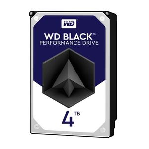 WD Disque dur interne Black 4To 128Mo 3.5\