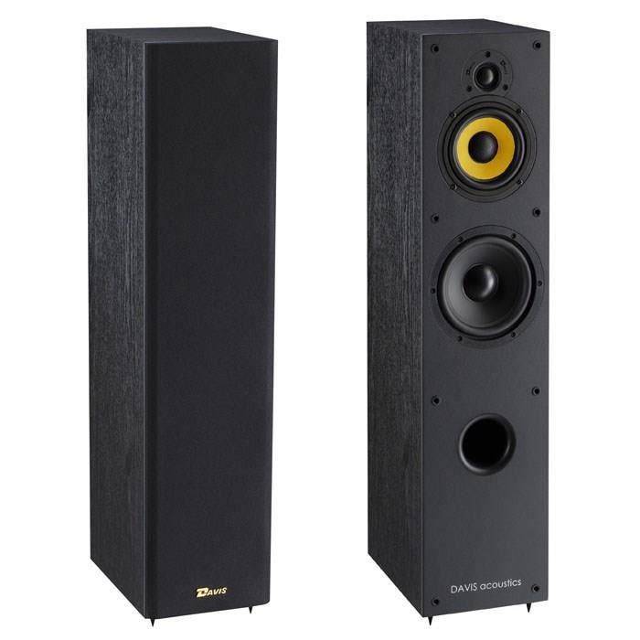 davis acoustics enceintes colonne excellia 05 la paire. Black Bedroom Furniture Sets. Home Design Ideas