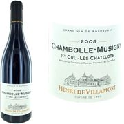 VIN ROUGE Chambolle Musigny 1er Cru Les Chatelots 2008 vi...