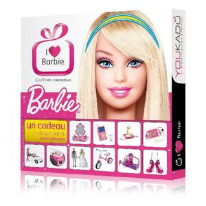COFFRET SÉJOUR Coffret Cadeaux - I love Barbie - Premium