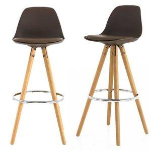chaise haute de bar achat vente chaise haute de bar pas cher soldes cdiscount. Black Bedroom Furniture Sets. Home Design Ideas
