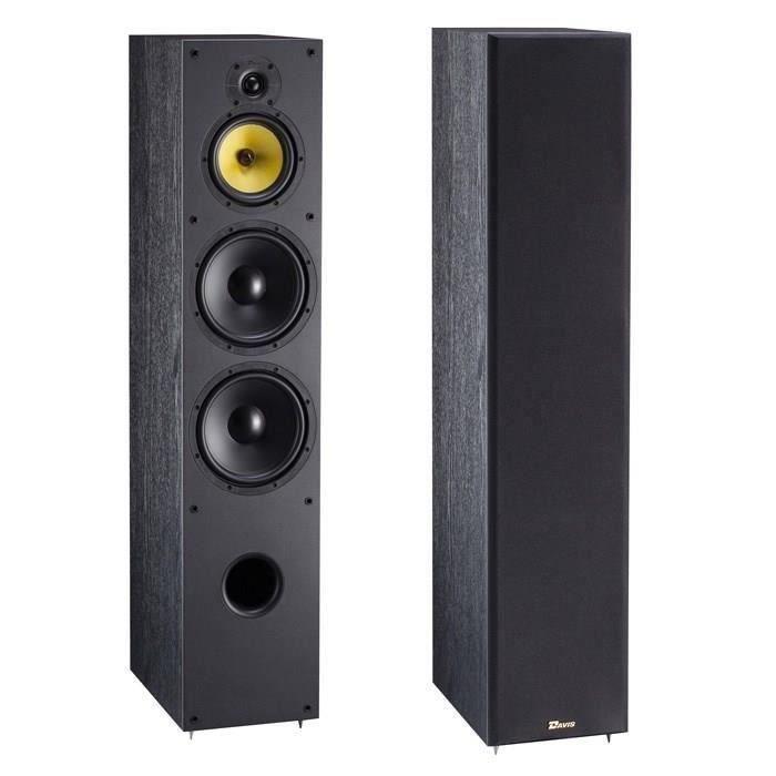 davis acoustics enceintes colonne eva 15 la paire. Black Bedroom Furniture Sets. Home Design Ideas