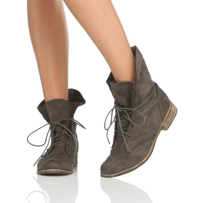 chaussures femme bakajoo bottines tunis f  baka
