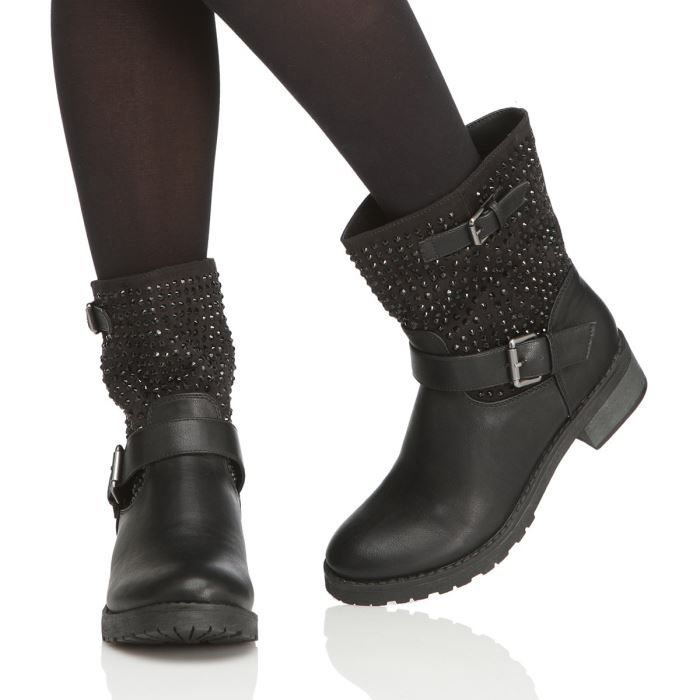 bakajoo bottines paris femme femme noir achat vente bakajoo bottines paris femme femme pas. Black Bedroom Furniture Sets. Home Design Ideas