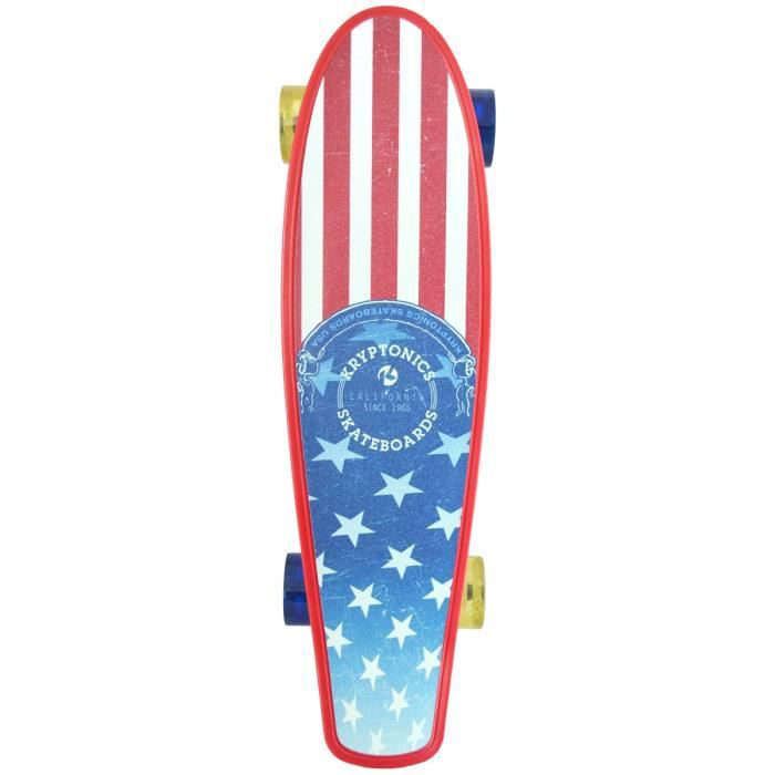 kryptonics skateboard torpedo 22 5 39 39 flag achat vente. Black Bedroom Furniture Sets. Home Design Ideas