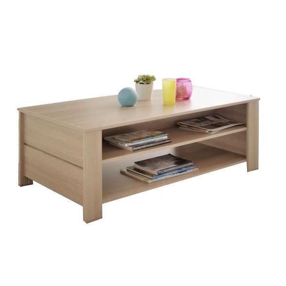 soho table basse l108 cm d cor bruges achat vente table basse soho table basse l108 cm. Black Bedroom Furniture Sets. Home Design Ideas