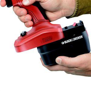 BLACK & DECKER Perceuse 14.4V + 2 batteries