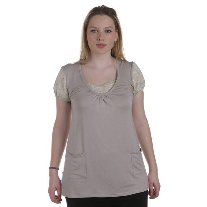 tunique grandes tailles femme achat vente tunique mode grandes tailles cdiscount. Black Bedroom Furniture Sets. Home Design Ideas