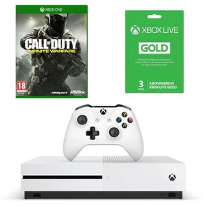 CONSOLE XBOX ONE NOUV. Xbox One S 500Go + Call of Duty Infinite Warfare J