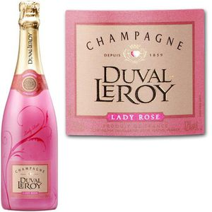 CHAMPAGNE Duval-Leroy Lady Champagne Rosé x1