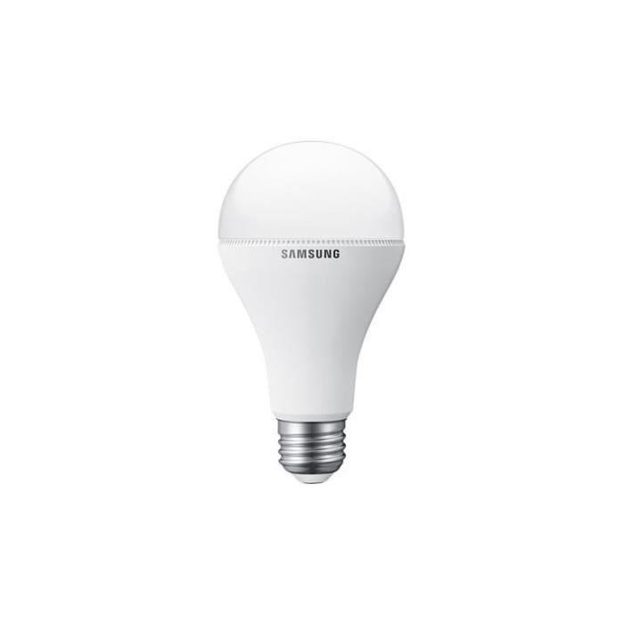 samsung ampoule led e27 75w achat vente ampoule led cdiscount. Black Bedroom Furniture Sets. Home Design Ideas
