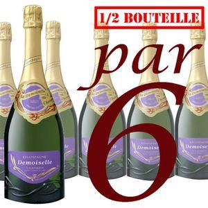 CHAMPAGNE Magnum Vranken Demoiselle Brut Grande Cuvée x6