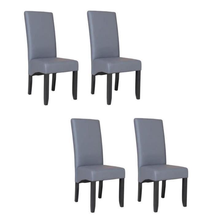 Cuba lot de 4 chaises 28 images lot de 4 chaises for Chaise salle a manger pas cher lot de 4