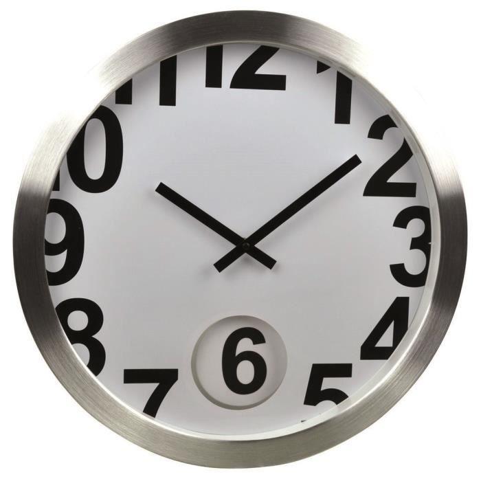 Loft pendulum horloge murale 30cm achat vente horloge - Horloge murale led bleue ...