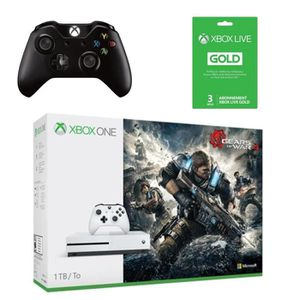 CONSOLE XBOX ONE Xbox One S 1 To Gears of War 4 + 2ème manette + Ab