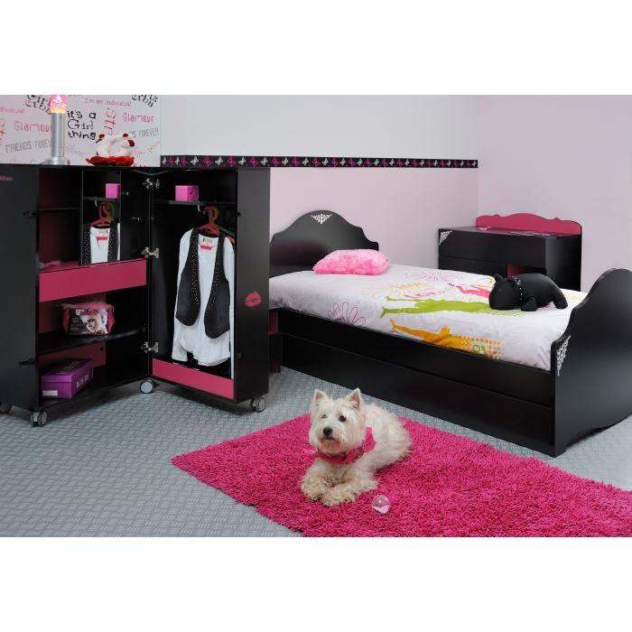 Meubles chambre enfant chambres compl tes enfant achat for Chambre rose fushia et blanc