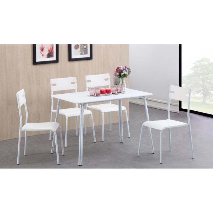Table rabattable cuisine paris conforama table de cuisine for Ensemble table et 4 chaises pas cher