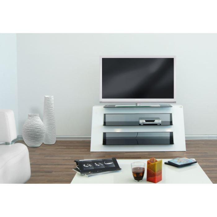 pin meuble tv blanc range 2 le sera vous combler on pinterest. Black Bedroom Furniture Sets. Home Design Ideas