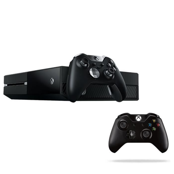 xbox one elite 1 to noire 2 manettes achat vente console xbox one nouv xbox one elite 1. Black Bedroom Furniture Sets. Home Design Ideas