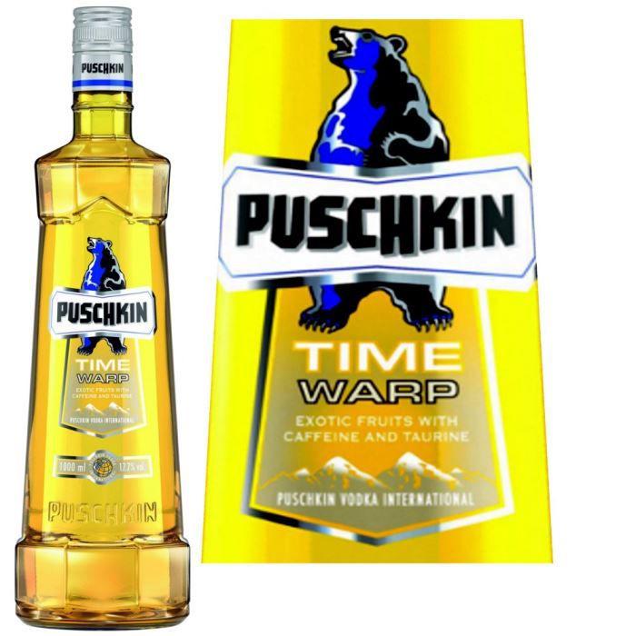 VODKA Puschkin Time Warp 70cl 18%