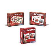 MÉMORY PACK CARS Memo + Loto + Domino