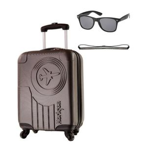 VALISE - BAGAGE HORIZON Valise Cabine Low Cost Rigide ABS 4 Roues